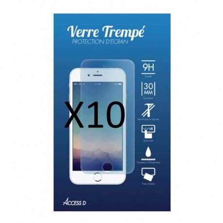 pack 10 x verre trempe iphone 5 accessd. Black Bedroom Furniture Sets. Home Design Ideas