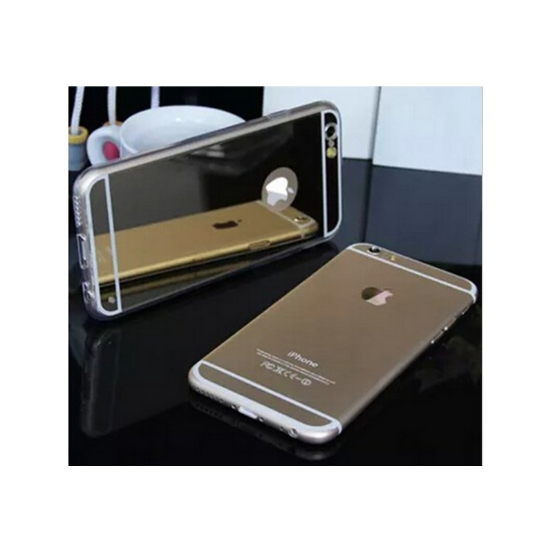 Coque iphone 5 5s miroir silver accessd for Coque iphone 7 miroir