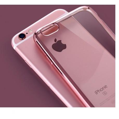 coques iphone 6 silicone rose
